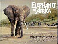 Elephants of Africa by Paul Bosman