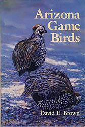 Arizona Game Birds illustrated by Paul Bosman